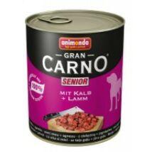 Animonda GranCarno Senior (borjú + bárány) 800g