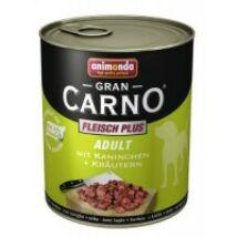 Animonda GranCarno Adult (nyúl + fűszer) 800g