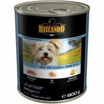 Belcando Dog Konzerv Junior baromfihús tojással 400 g