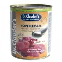 Dr.Clauders Dog Konzerv Selected Meat Fejhús 800g