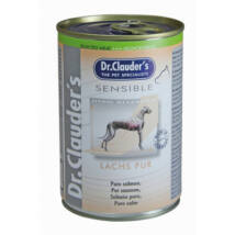 Dr.Clauders Dog Selected Meat Sensible Lazac Pure 375g
