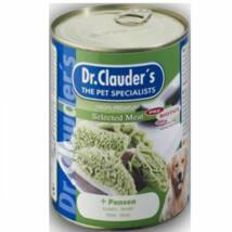 Dr.Clauders Dog Konzerv Selected Meat Pacal 800g