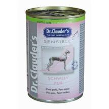 Dr.Clauders Dog Selected Meat Sensible Sertés Pure 375g
