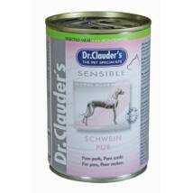 Dr.Clauders Dog Selected Meat Sensible Sertés Pure 375g