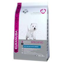 Eukanuba Breed West Highland Terrier  2,5kg kutyatáp