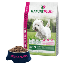 Eukanuba Natureplus+ Adult Small Lamb 14kg kutyatáp