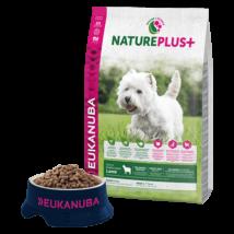 Eukanuba Natureplus+ Adult Small Lamb 2,3kg kutyatáp