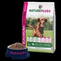 Eukanuba Natureplus+ Puppy Lamb 14kg kutyatáp