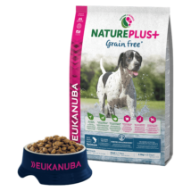 Eukanuba Natureplus+ Adult Grain Free Salmon 2,3kg kutyatáp