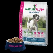 Eukanuba Natureplus+ Adult Grain Free Salmon 14kg kutyatáp
