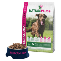 Eukanuba Natureplus+ Adult Large Lamb 2,3kg kutyatáp