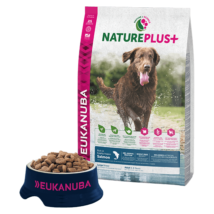Eukanuba Natureplus+ Adult Large Salmon 2,3kg kutyatáp