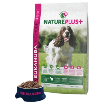 Eukanuba Natureplus+ Adult Medium Lamb 2,3kg kutyatáp