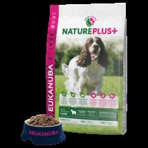 Eukanuba Natureplus+ Adult Medium Lamb 2,3kg kutyatáp