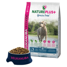 Eukanuba Natureplus+Puppy & Junior Grain free Salmon 2,3kg kutyatáp
