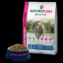 Eukanuba Natureplus+Puppy & Junior Grain free Salmon 2,3kg kutyatáp