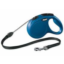 Flexi Classic Zsinóros M Kék 5méter
