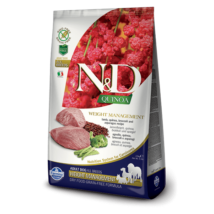 N&D Dog Grain Free Quinoa Weight Management Bárány 800 g