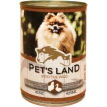 Pet s Land Dog Konzerv Baromfi 415g