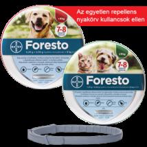 Foresto bolhanyakörv kicsi macska - kutya 8 kg-ig