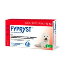 Fypryst 0,67 ml kutya 2-10 kg 1x