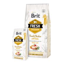 Brit Fresh Csirke és Burgonya Puppy Healthy Growth 2,5 kg