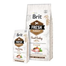 Brit Fresh Pulyka és Borsó Adult Fit & Slim 2,5 kg