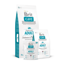 Brit Care Grain-free Adult Salmon & Potato 1 kg kutyatáp