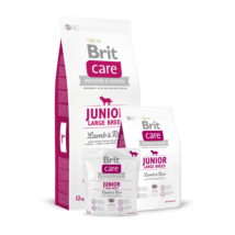 Brit Care Junior Large Breed Lamb & Rice 1 kg kutyatáp