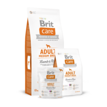 Brit Care Adult Medium Breed Lamb & Rice 3 kg kutyatáp