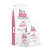 Brit Care Grain-free Puppy Salmon & Potato 1 kg kutyatáp