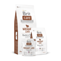 Brit Care Weight Loss Rabbit & Rice 1 kg kutyatáp
