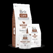 Brit Care Weight Loss Rabbit & Rice 1 kg kutyatáp