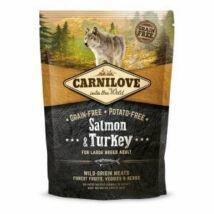 CarniLove Adult Large Lazac&Pulyka 1,5kg kutyatáp