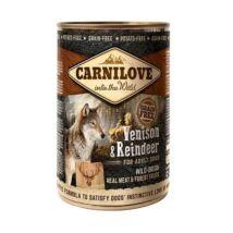 CarniLove Konzerv Adult Vadhús-Rénszarvas 400gr