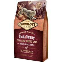 Carnilove Cat Kacsa & pulyka Large Breed – Muscles, Bones, Joints 400g
