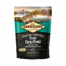Carnilove Fresh Adult Dog Ponty & Pisztráng - Hair & Healthy Skin 1,5 kg kutyatáp