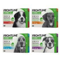 Frontline combo kutya s /2-10 kg/ 1x