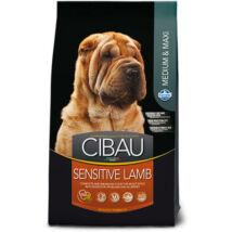 Cibau Sensitive Lamb Medium/Maxi 12+2kg Promo kutyatáp