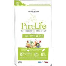 Flatazor Pure Life Light & Steril 2 kg kutyatáp