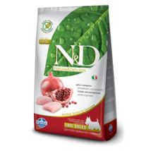 N&D Grain Free csirke&gránátalma adult mini 800g kutyatáp