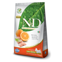 N&D Grain Free hal&narancs adult mini 800g kutyatáp