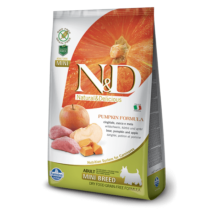 N&D Dog Grain Free vaddisznó&alma sütőtökkel adult mini 800g kutyatáp