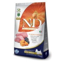 N&D Dog Grain Free bárány&áfonya sütőtökkel adult mini 800g kutyatáp