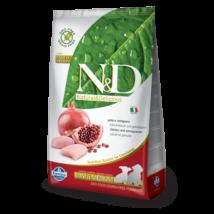 N&D Grain Free csirke&gránátalma puppy mini/medium 2,5kg kutyatáp