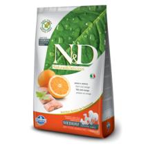 N&D Grain Free hal&narancs adult medium 2,5kg kutyatáp