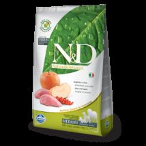 N&D Grain Free vaddisznó&alma adult medium 2,5kg kutyatáp