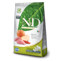 N&D Grain Free vaddisznó&alma adult medium 12kg kutyatáp