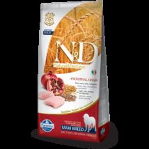N&D Low Grain Dog Csirke&gránátalma adult maxi 12kg kutyatáp