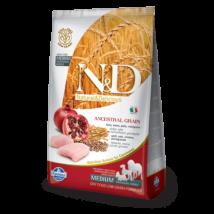 N&D Low Grain Dog Csirke&gránátalma adult medium 12kg kutyatáp